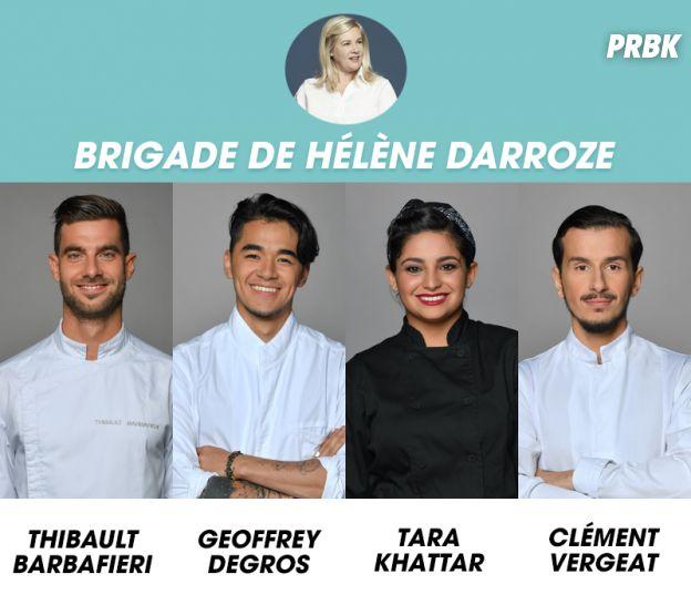 Top Chef 2018 : la brigade de Hélène Darroze