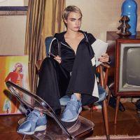 Puma x Cara : la love story continue en exclu chez Foot Locker avec la Muse X Strap Satin EP