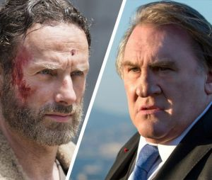 The Walking Dead clashée par Gérard Depardieu