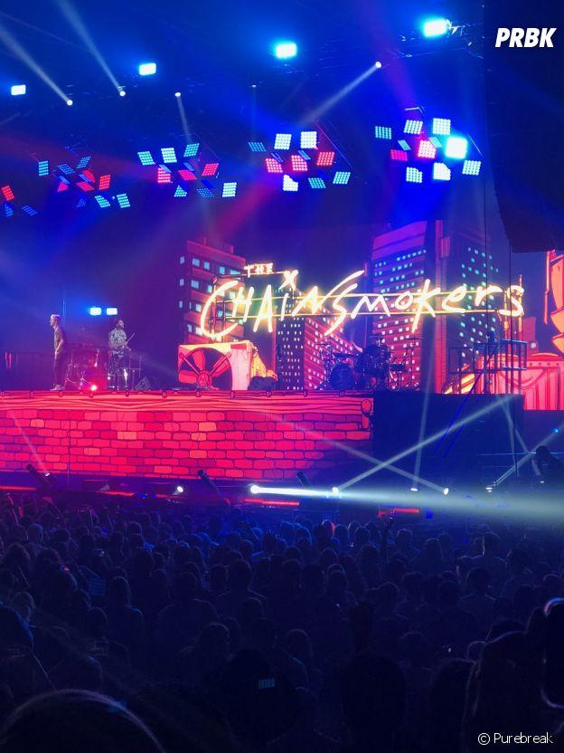 The Chainsmokers en concert à Paris : PRBK y était
