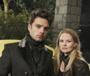 Sebastian Stan et Jennifer Morrison dans Once Upon a Time