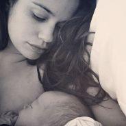 Lucie Lucas (Clem) maman : l'actrice a accouché de son troisième enfant et le dévoile en photo