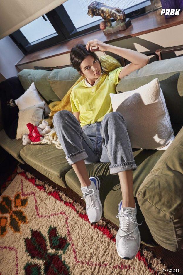 good service authentic quality premium selection Kendall Jenner égérie Adidas pour les sneakers Arkyn, elle ...