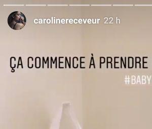 Caroline Receveur dévoile l'incroyable chambre de son futur bébé