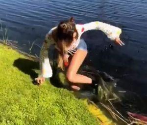 Nabilla Benattia en bombe à Coachella, elle glisse et manque de tomber à l'eau : la vidéo délirante !