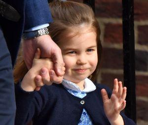 La Princesse Charlotte va à la rencontre de son petit frère le 23 avril 2018