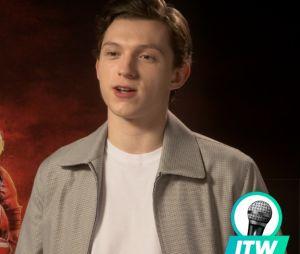 Interview de Tom Holland, Elizabeth Olsen et Paul Bettany pour Avengers Infinity War.