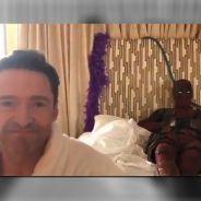 Deadpool 2 : Hugh Jackman au casting ? L'étonnante vidéo de l'acteur avec le mercenaire