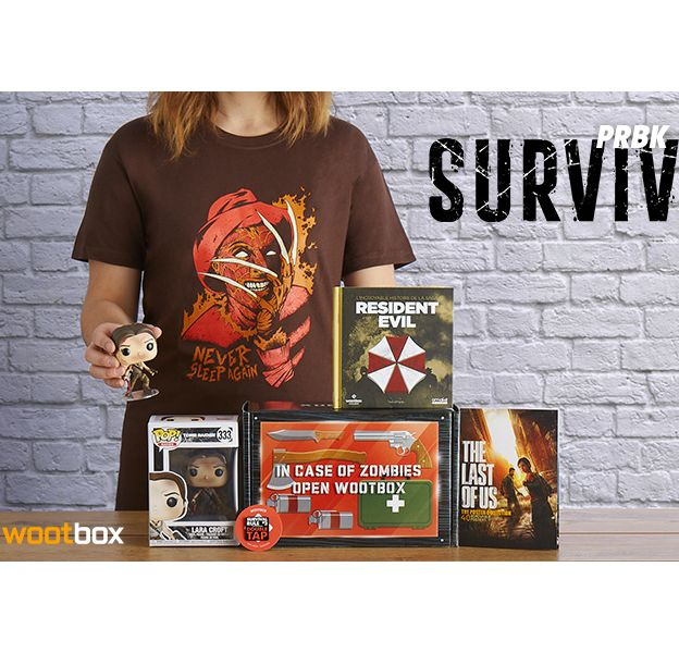 Tomb Raider, The Last of Us, Resident Evil... unboxing Wootbox Survival