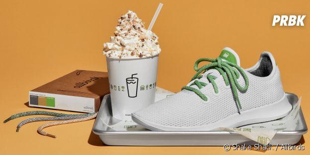 Shake Shack x Allbirds : la paire de sneakers gourmande et très exclusive, dispo qu'à New York pendant 24h