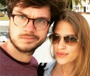 Solène Herbert et son compagnon Romain se sont mariés