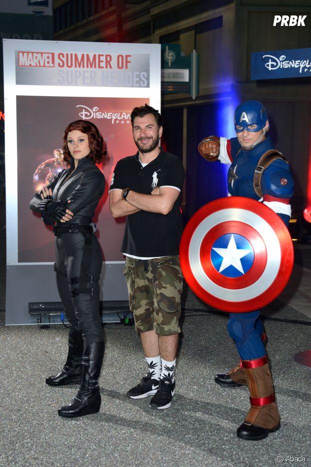 Michael Youn présent au lancement de Marvel Summer of Super Heroes à Disneyland Paris ce samedi 9 juin 2018