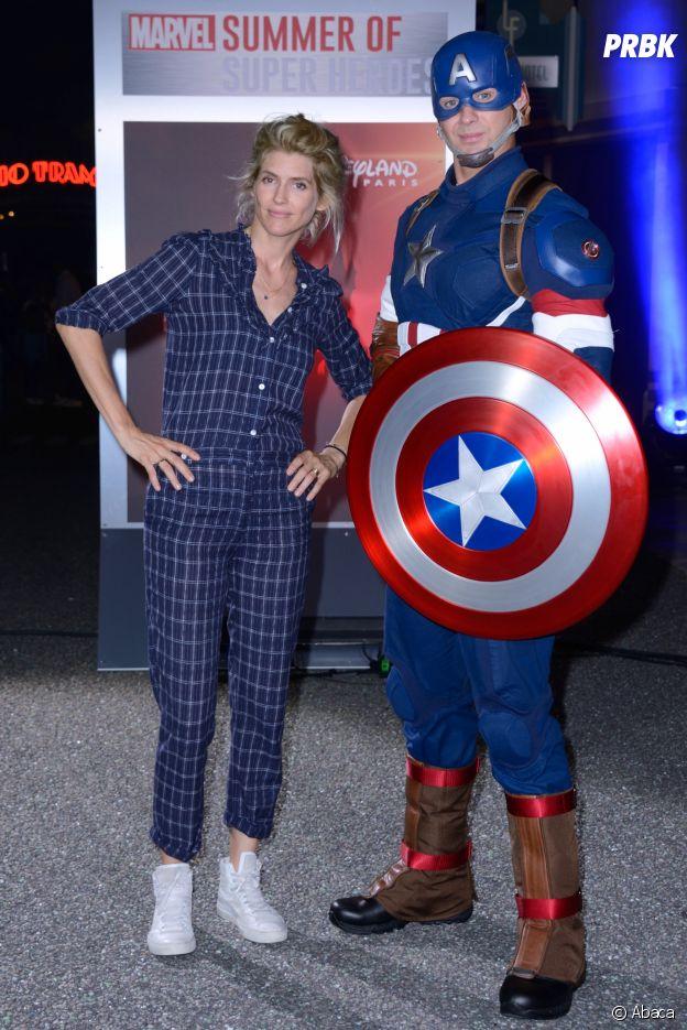 Alice Taglioni présente au lancement de Marvel Summer of Super Heroes à Disneyland Paris ce samedi 9 juin 2018