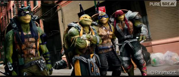 Les Tortues Ninja de retour au cinéma... mais avec un reboot