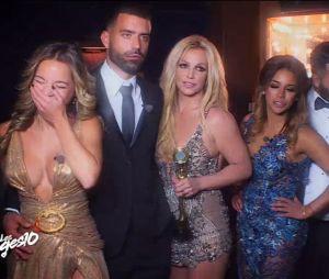 Jaja (Les Anges 10) et les candidats rencontrent Britney Spears, moment culte