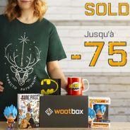 Harry Potter, Dragon Ball, DC... Wootbox fait les soldes !