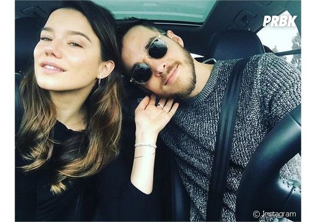 Chris Wood et Hanna Mangan Lawrence ont été en couple