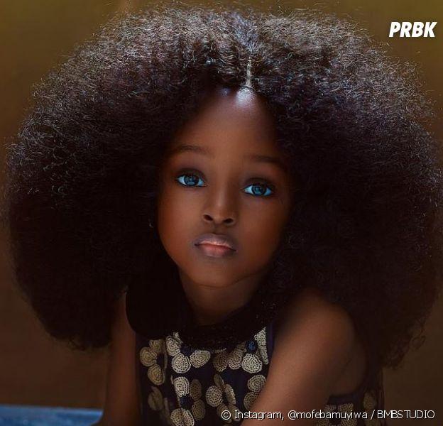 Jare Ijalana (5 ans) élue plus belle petite fille du monde par les internautes !