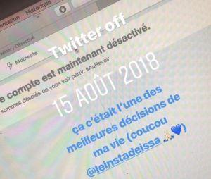 """Agathe Auproux quitte elle aussi Twitter : """"l'une des meilleurs décisions de ma vie"""""""