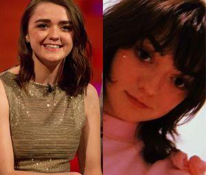 Maisie Williams (Game of Thrones) métamorphosée : l'interprète d'Arya Stark a changé de tête une fois le tournage fini.