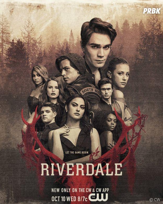L'affiche de la saison 3 de Riverdale