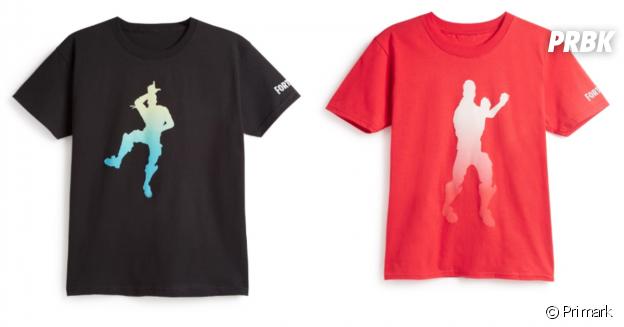 Primark x Fortnite : des t-shirts pour afficher votre amour du jeu