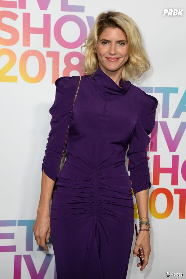 Alice Taglioni au défilé Etam, ce mardi 25 septembre 2018 à Paris.
