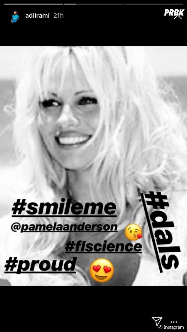 "Adil Rami ""fier"" de Pamela Anderson avant Danse avec les stars 9"