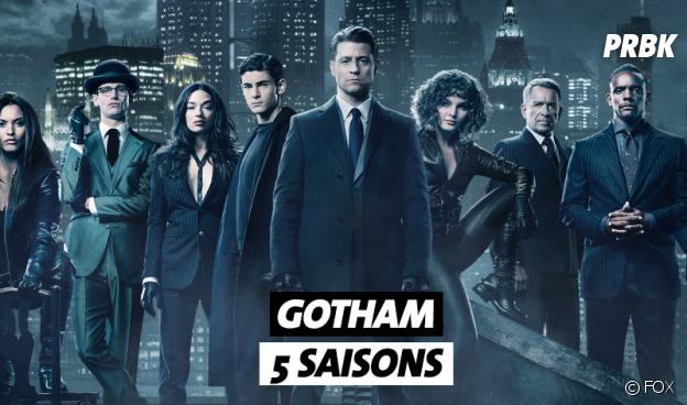 Les séries qui se terminent en 2019 : Gotham