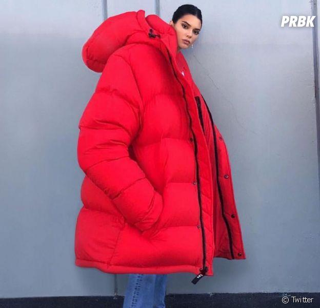 Kendall Jenner moquée sur Twitter : les internautes détournent sa doudoune, et c'est hilarant