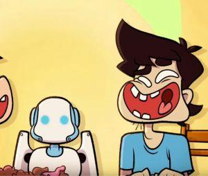 """Cyprien crée un dessin animé """"Roger et ses humains"""" (et c'est très prometteur)"""