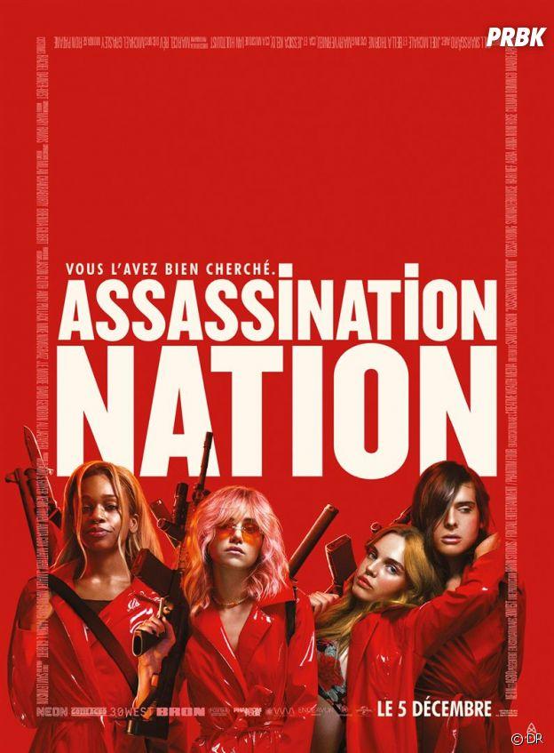 Assassination Nation : quatre adolecentes plongées dans une chasse aux sorcières moderne dans les rues de Salem.
