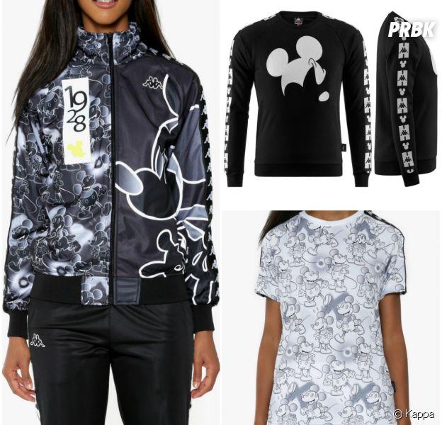 Disney : Mickey en mode street dans la collab avec Kappa.