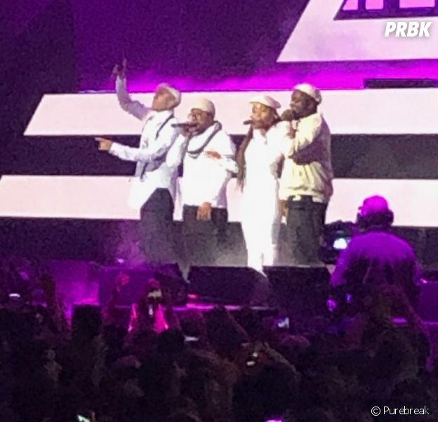 Black Eyed Peas annoncent la sortie d'un nouvel album en plein concert à Paris