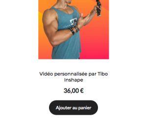 Tibo InShape fait payer ses dédicaces à ses abonnés, ils crient au scandale
