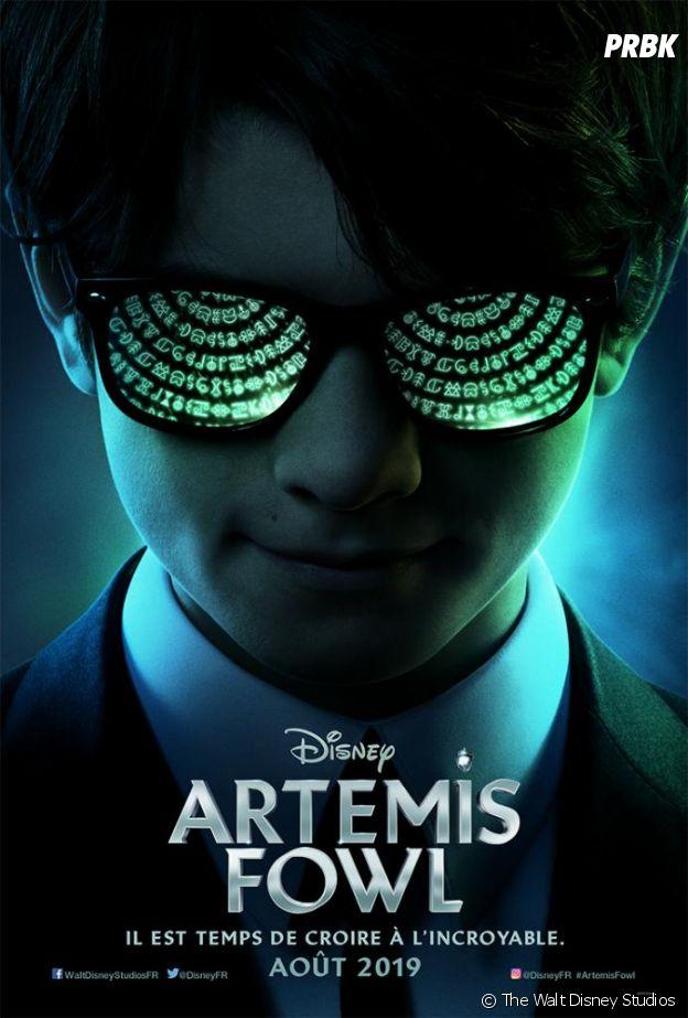 Artemis Fowl : l'affiche du film