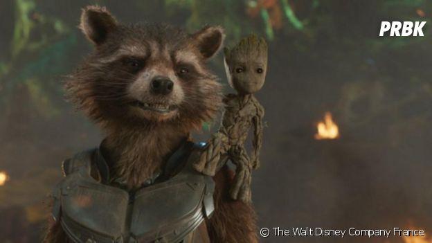 Les Gardiens de la Galaxie : des fans veulent voir Rocket et Groot en couple