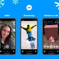 Facebook Messenger lance des stickers et des filtres festifs pour Noël et le jour de l'an 🎅🏼🎄