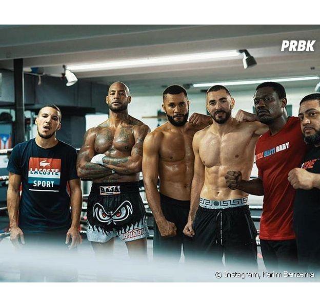 Booba VS Kaaris : Karim Benzema s'entraîne avec Booba avec le combat