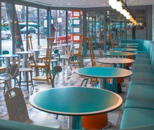 McDonald's passe en mode vintage pour son resto à Gare d'Austerlitz