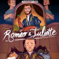 """Cyprien et Squeezie dans la peau de """"Roméo et Juliette"""" : """"On est allés au bout du gage"""""""