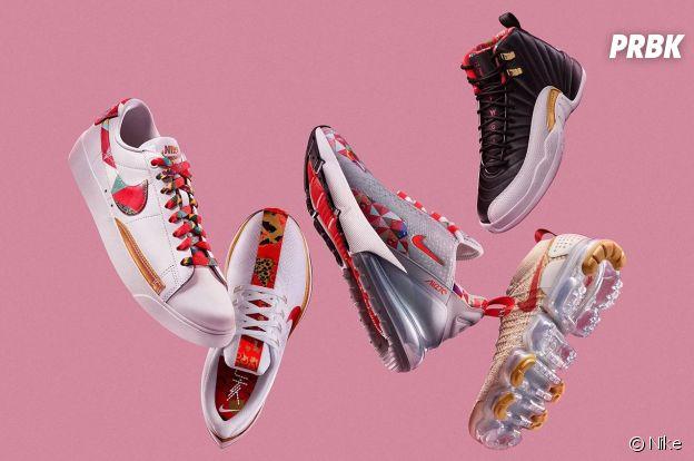 Nike fête le nouvel an chinois avec une collection.