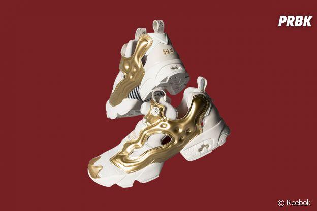 Reebok fête le nouvel an chinois avec une paire de sneakers.