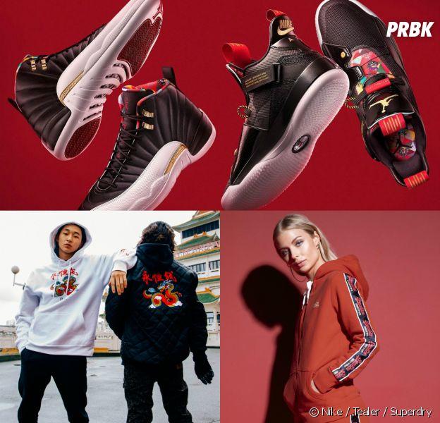 Nike, Tealer, Superdry... Nos collections coups de coeur pour fêter le nouvel an chinois