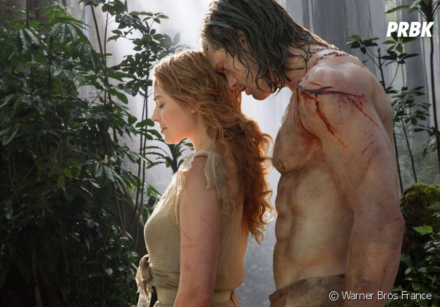 Margot Robbie et Alexander Skarsgard dans Tarzan