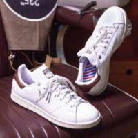 La Stan Smith d'adidas passe en mode Barber Shop pour Courir, S.Pri Noir valide