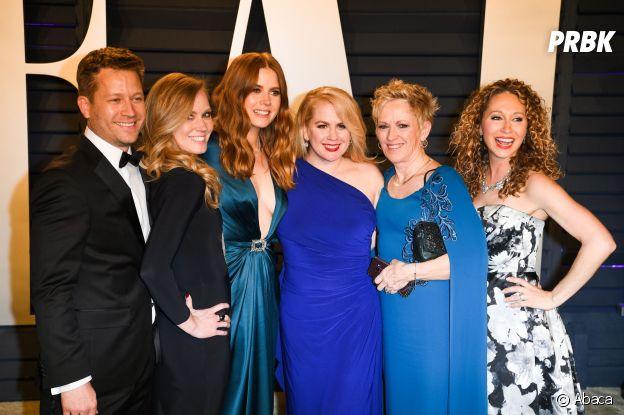 Ces stars qui posent avec leur famille sur un tapis rouge : Amy Adams et sa famille