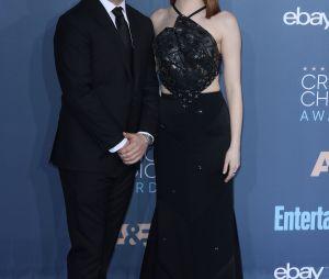 Ces stars qui posent avec leur famille sur un tapis rouge : Emma Stone et son frère Spencer