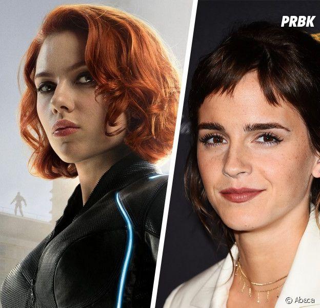Black Widow : Emma Watson en héroïne badass avec Scarlett Johansson ?