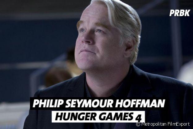 Philip Seymour Hoffman est mort pendant le tournage de Hunger Games 4